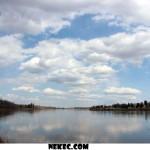 North Sask River Big Sky