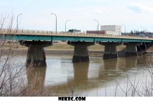 The Diefenbaker Bridge