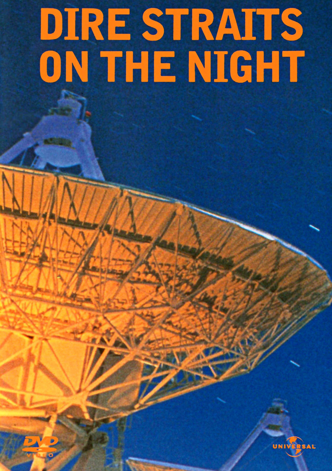 "Poster for the movie ""Dire Straits - On the Night"""